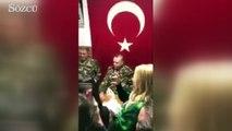 Cumhurbaşkanı Erdoğan türkü söyledi