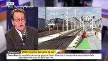 """SNCF : """"Les Français ne comprennent pas qu'alors que toute l'économie s'est transformée depuis 30 ans, une entreprise résiste à ce changement"""", Gilles Le Gendre"""
