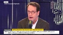 Gilles Le Gendre (député LREM) annonce que la majorité envisage de mettre en place l'exonération fiscale des heures supplémentaires en 2020 pour un coût d'environ 4 ou 5 milliards d'euros