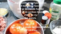 Tomates farcies recette cookeo