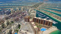 The Palm Al Jumeirah, Atlantis Dubai Eagle View True 4K UHD