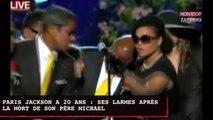 Paris Jackson a 20 ans : revivez ses larmes lors de la mort de son père Michael (vidéo)