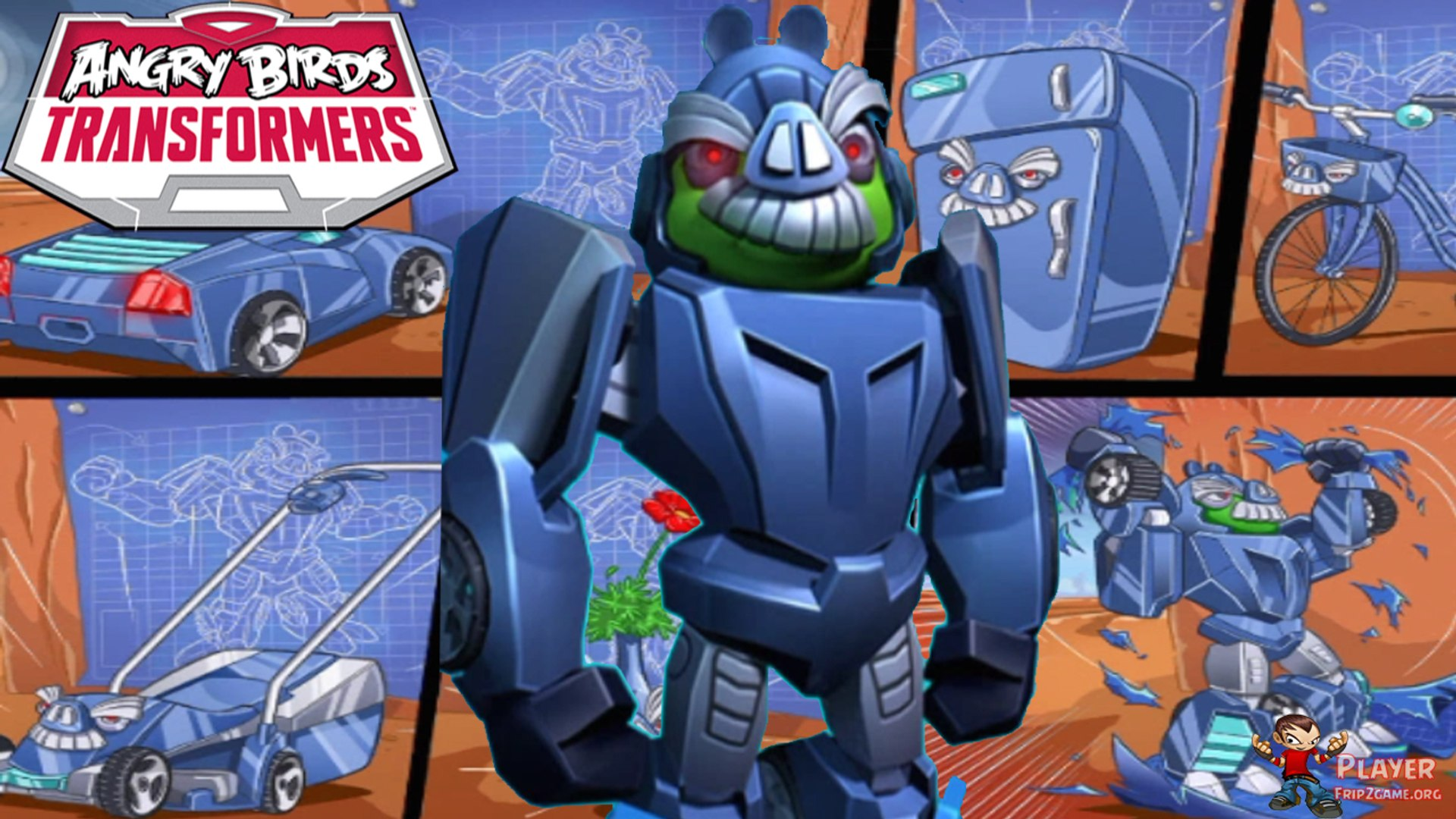 Angry Birds 2 Hack 2018 angry birds transformers: eggcellent - fear my moustache event 2018