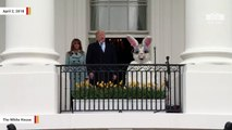 Trump Touts Economy, Military Spending At White House Easter Egg Roll Event