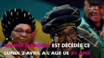 Nelson Mandela : Son ex-épouse Winnie Mandela est décédée