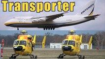ANTONOV AN-124 * Antonov Airlines * Landing @ FKB to load Helicopter