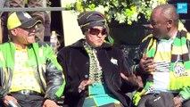 Afrique du Sud décès de Winnie Mandela, l'ex-épouse de Nelson Mandela