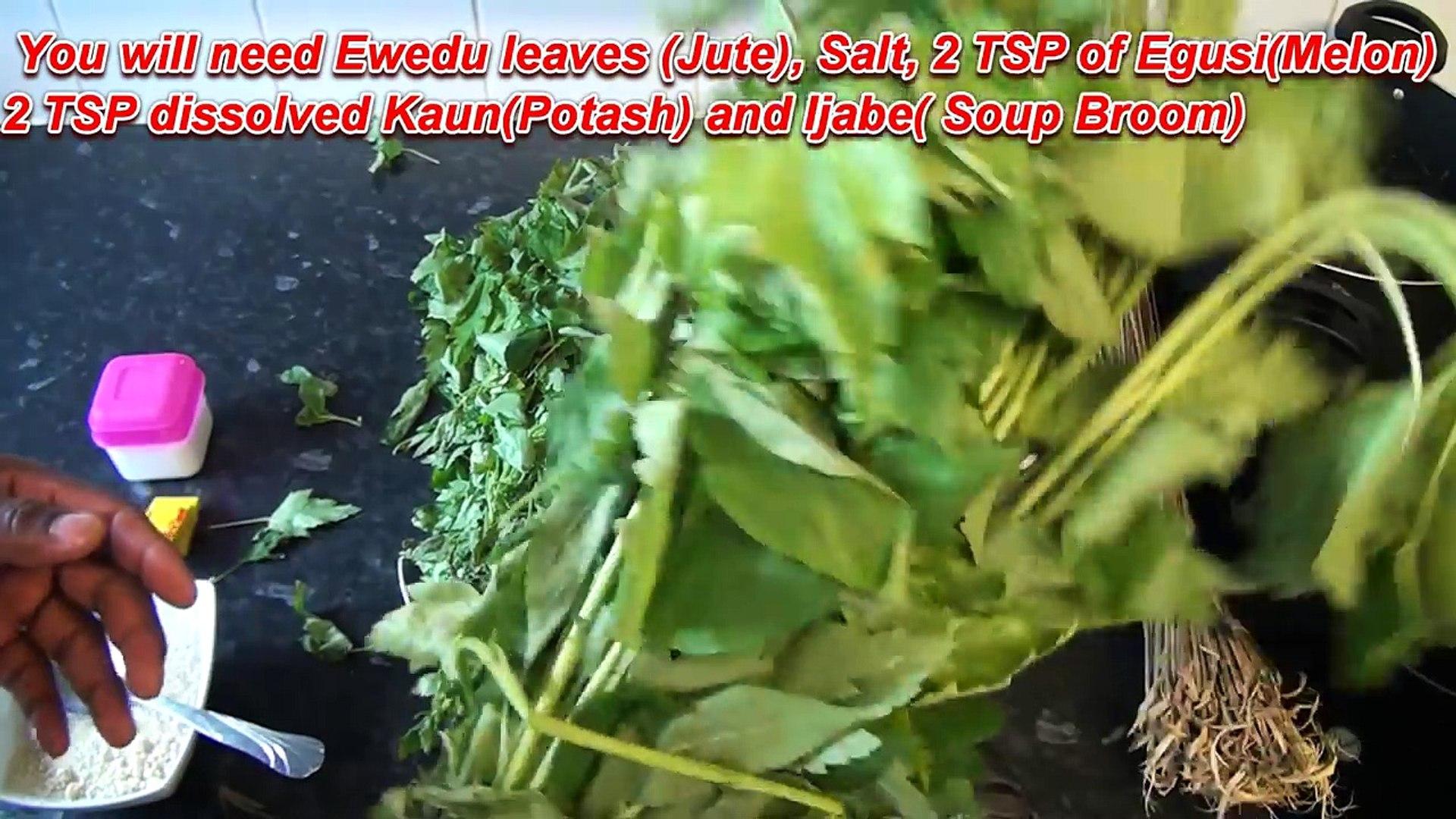 Ewedu Soup| Nigerian food | Nigerian Cuisine