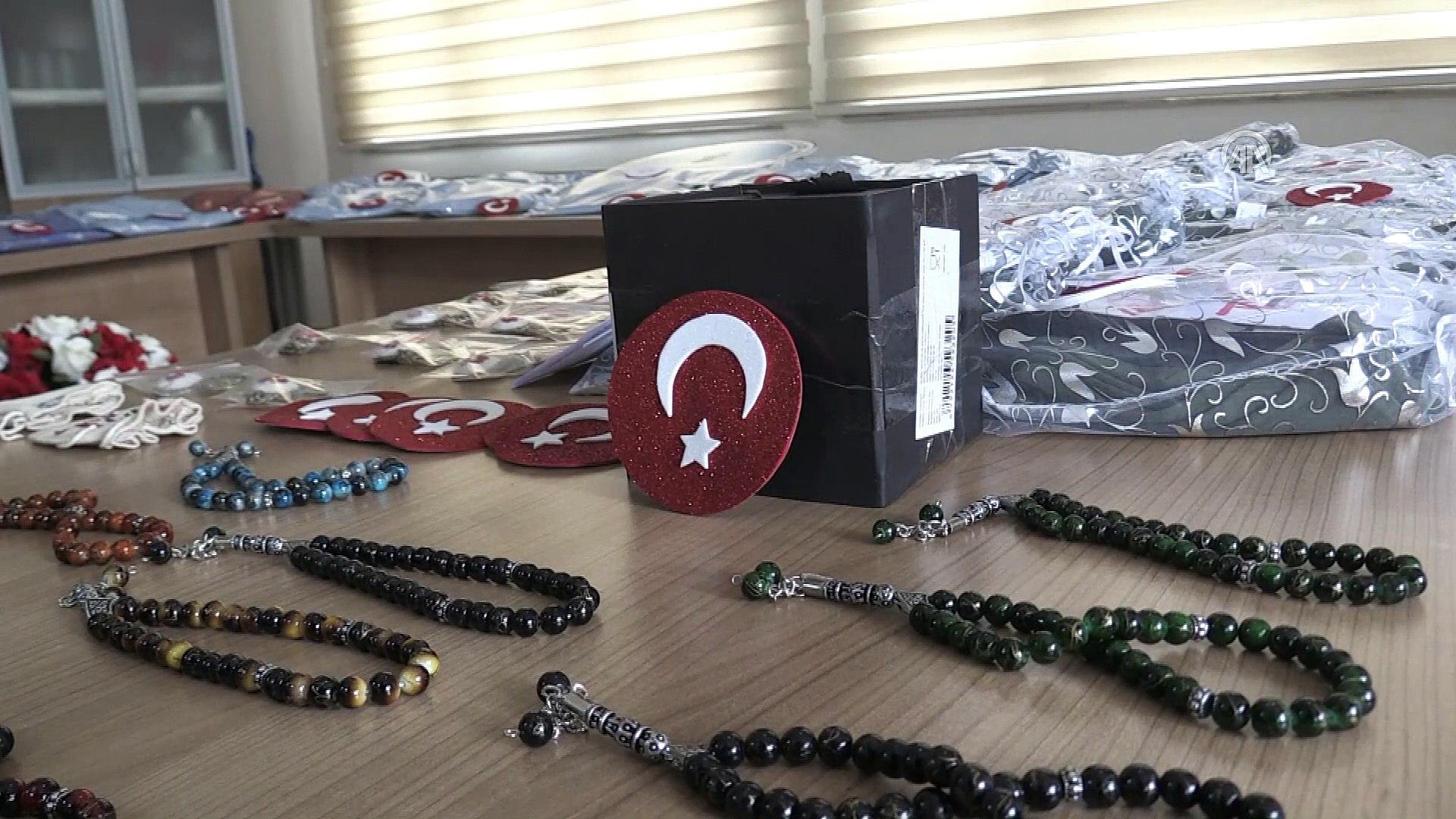 Engelli kursiyerlerden Afrin'deki askerlere anlamlı hediyeler - SİNOP