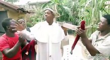 Woli Agba decided to act Jesus on good Friday, see how Dele and co are beging him not to stop...lols