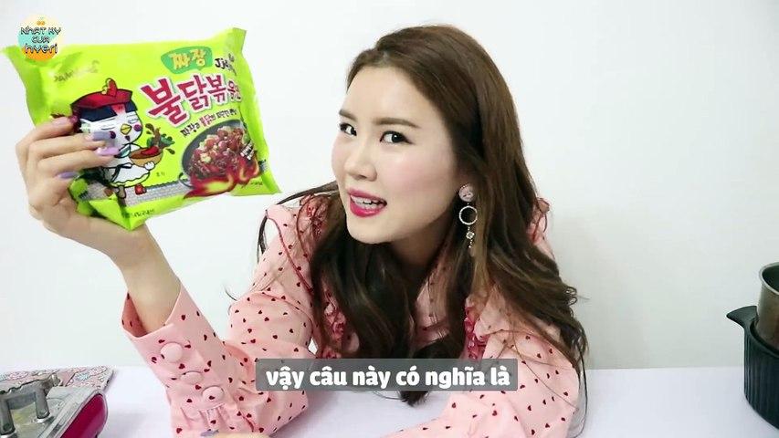 SUÝT CHẾT TRONG LÚC ĂN!! Mì Tương Đen CAY mới nhất!!!! (feat. Kang Daniel)