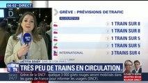 Grève SNCF: TGV, Intercités, TER… les prévisions de trafic pour ce mardi