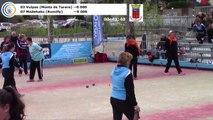 La finale, huitième étape du Super 16 féminin, Bourg-Saint-Andéol 2018