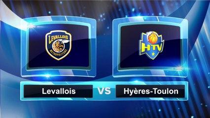 Avant match avec Cyrille Eliezer-Vanerot, Levallois - Hyères-Toulon