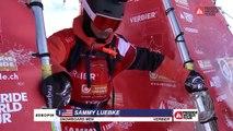 Adrénaline - Snowboard : Le run impressionnant de Sammy Luebke sur le Freeride World Tour de Verbier