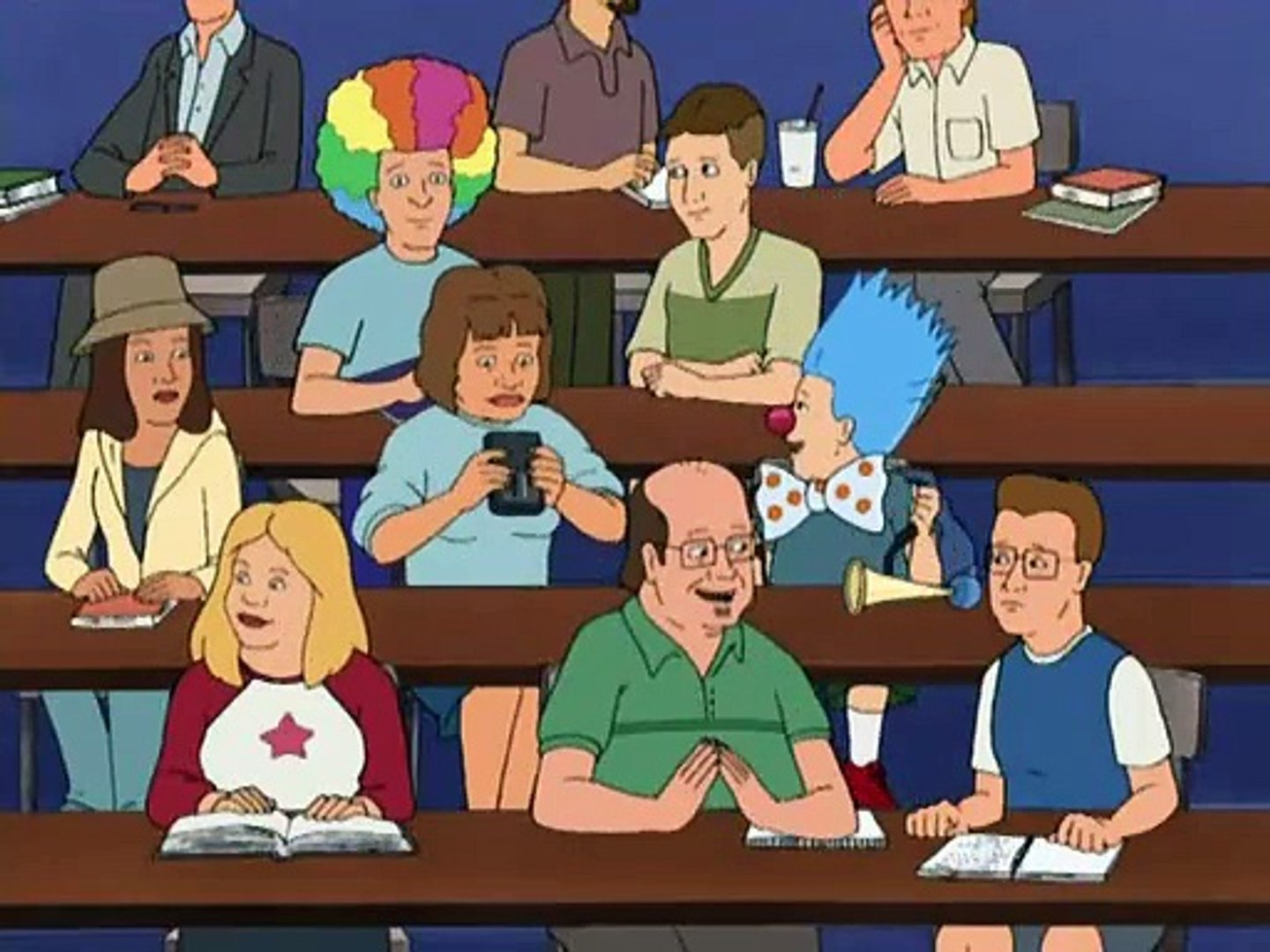 King Of The Hill S10E05 A Portrait Of The Artist As A Young Clown