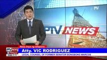 Panayam ng #PTVNews kay Atty. Vic Rodriguez kaugnay ng pagbibitiw ng 4 head revisors sa VP recount