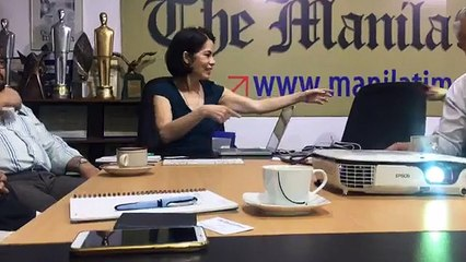 Roundtable with Environment Secretary Gina Lopez (Part 2)