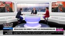 """Morandini Live : Henri Guaino """"une erreur"""" à Sud Radio, """"de l'argent jeté par les fenêtres"""" (vidéo)"""