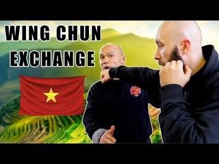 Wing Chun Kung Fu Exchange in Vietnam