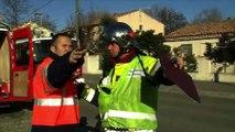 VUE D'ICI : Vue d'ici : Des pompiers dans la ville