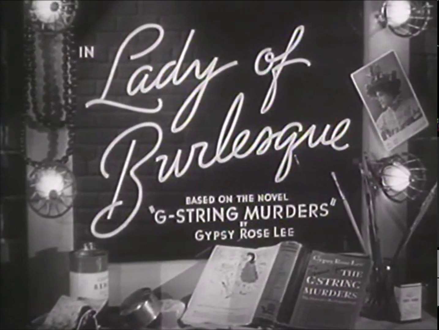 Image result for Lady of Burlesque 1943