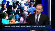 Gaza: les réactions venant du Monde arabe sont plutôt timides