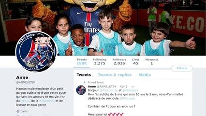 Mbappé exauce le souhait d'un jeune supporter autiste
