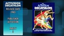 Atari 2600 Encyclopedia Ep 1 Activision Decathlon
