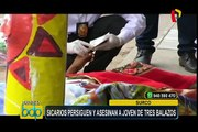 Surco: sicarios persiguen y asesinan a joven de tres balazos