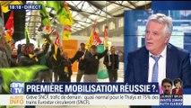 Grève à la SNCF: une première mobilisation réussie ?