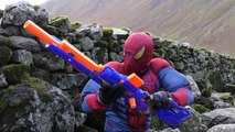 SNIPER SPIDERMAN (BB, Air, Pellet, Nerf Gun) NERF N-Strike Longstrike CS-6 Sniper Rifle Adventure