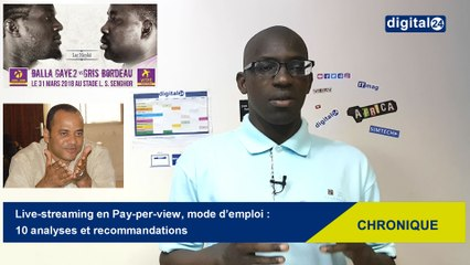 Live-streaming en Pay-per-view, mode d'emploi : 10 analyses et recommandations