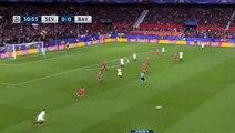 Pablo Sarabia Goal - Sevilla 1-0 Bayern Munich - 03.04.2018