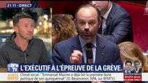 """Olivier Besancenot: """"On a un gouvernement, avec Emmanuel Macron en première ligne, qui s'est dit: """"Je peux faire du Thatcher"""""""""""