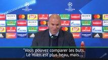 """Quart - Zidane : """"Mon but était plus beau ..."""""""
