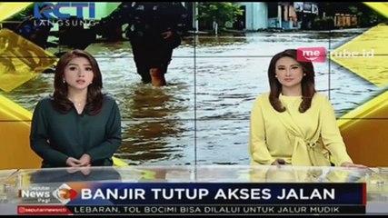 Banjir Lampung Tutup Akses Jalan