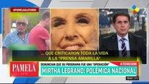 BOMBA: toda la television argentina siguen enojados y furiosos con mirtha legrand y natacha jaitt por los dichos de natacha en wl marco de abuso de menores