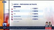 Grève SNCF: TGV, TER, RER… les prévisions de trafic de ce mercredi