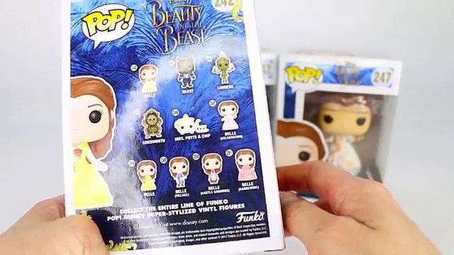 Disney FUNKO POP! Beauty & The Beast Live Action UNBOXING & REVIEW | Belle (Celebration) & Beast