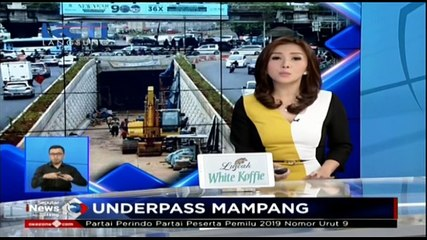 Proyek Underpass Mampang-Kuningan Dikebut