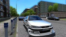 CITY CAR DRIVING PEUGEOT 406 TAXI MARSEILLE