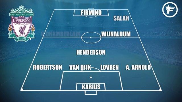 Les compos probables de Liverpool-Manchester City