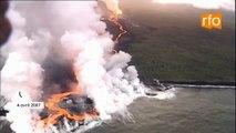 """Quand La Réunion vivait """"l'éruption du siècle"""" en avril 2007"""