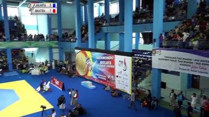 PON 2018 - TAEKWONDO - JAKARTA vs  BANTEN