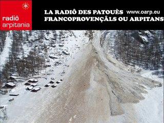 Avalanche d'Evolène - Laveïnstu d'Oleïnna 1999 (en patouè)