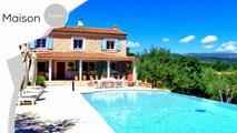 A vendre - Maison/villa - St cezaire sur siagne (06530) - 6 pièces - 190m²