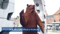 L'ours de la place des tilleuls à Andenne