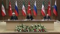 Rusya Devlet Başkanı Vladimir Putin: 'Rusya, İran ve Türkiye Suriye'nin toprak bütünlüğünden yanadır. Suriyeliler ileride devlet yapılarıyla ilgili parametreleri kendileri belirleyecekler'