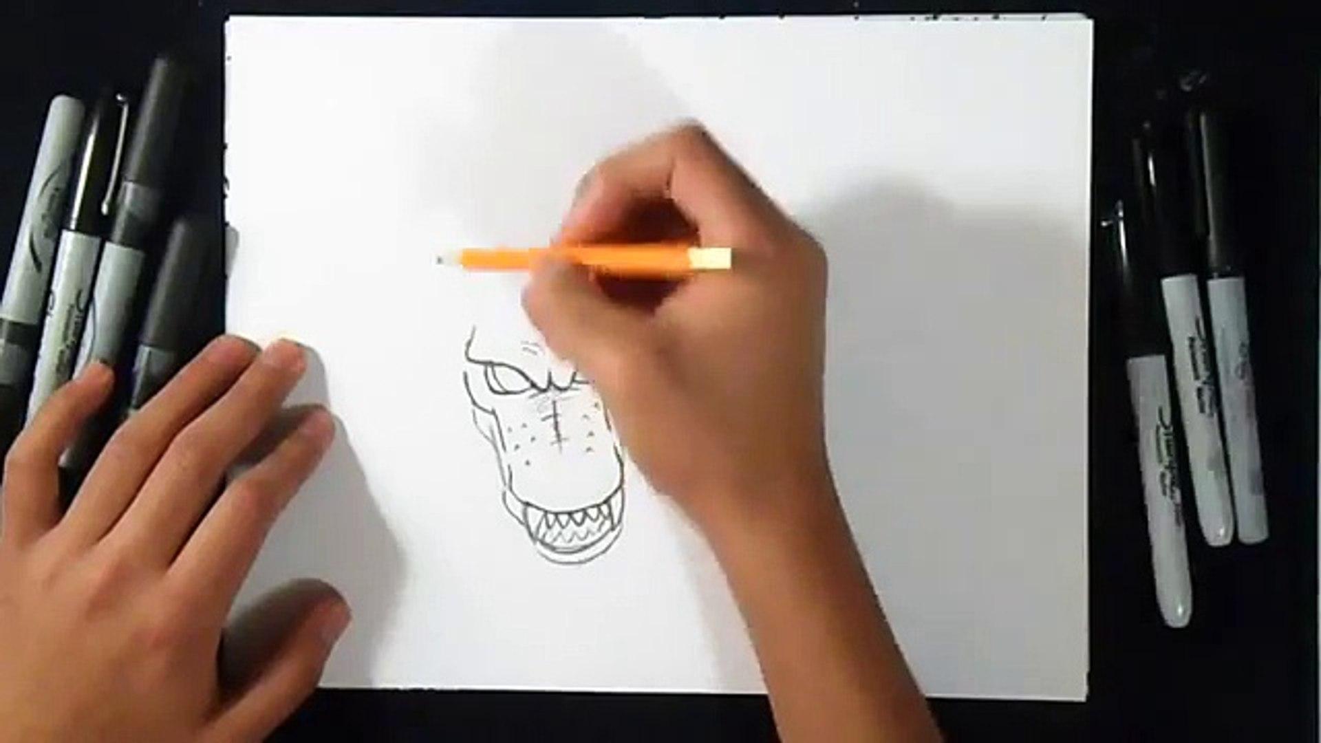 Comment Dessiner Dragon Shenron Dragon Ball Z